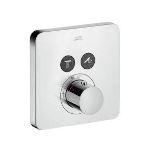 Термостат ShowerSelect S, для 2 потребителей, СМ Axor  polished red gold