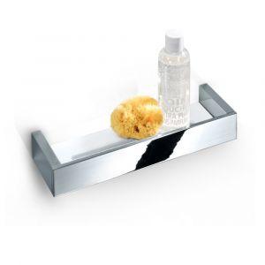 Душевая полочка 600 мм Decor Walther Brick, хром/керамика белая