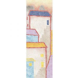 Настенная плитка Fuori Formato I Decorativi CASE 01 100 х 300 см