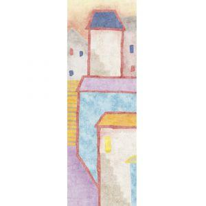 Настенная плитка Fuori Formato I Decorativi CASE 02 100 х 300 см