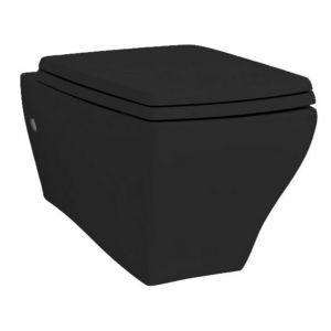 Унитаз подвесной ArtCeram Jazz черный в комплекте с крышкой SoftClose