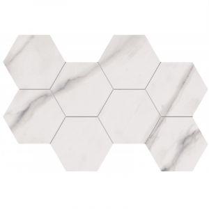 Мозаика Flaviker Supreme Royal Statuario Hexagon 51 x 29,2 см Anticato