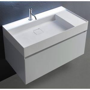 Комплект мебели Antonio Lupi Graffio 90см белый глянец
