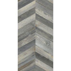 Керамогранит APE Ceramica Dock CHEVRON BLUE 60 х 120 см RECT