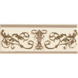 Фриз APE Ceramica Le Marais IVORY GOLD 10 х 25 см