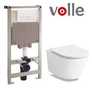 Инсталляция Volle Master (4-в-1) комплект 141515 с унитазом Volle Nemo 13-17-316 + сиденье Soft Close