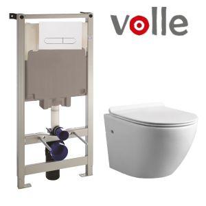Инсталляция Volle Master (4-в-1) комплект 141919 с унитазом Volle Amadeus 13-06-055 + сиденье Soft Close