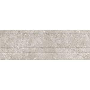 Настенная плитка Baldocer Queensland DECOR GREY RECT 30 х 90 см