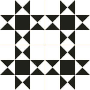 Напольный декор Dual Gres Chic CARDIF WHITE 45 х 45 см