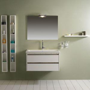 Комплект мебели LaborLegno Dado, отделка тумбы - White Brillant