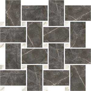 Мозаика Ricchetti Marble Boutique Amani Chevron Lucido RETT 30,5 x 31,7 см (9,5 мм)