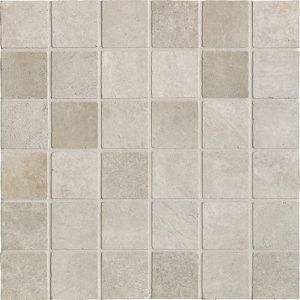 Мозаика Ricchetti Les dalles des Chateaux Gris 33,3 х 33,3 см (10,5 мм) 5x5 spaccatella