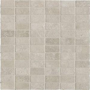 Мозаика Ricchetti Les dalles des Chateaux Gris 33,3 х 33,3 см (10,5 мм) 2,5x5 spaccatella