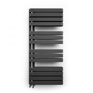 Полотенцесушитель настенный Terma Warp S 111 x 50 см, чёрный
