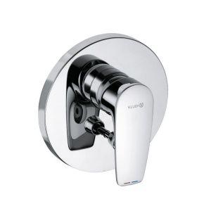 Встраиваемый смеситель для ванны/душа, внешняя часть Kludi Pure Solid (цвет - хром)
