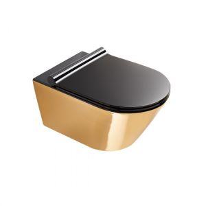 Унитаз подвесной Catalano Gold & Silver с сиденьем Soft Close