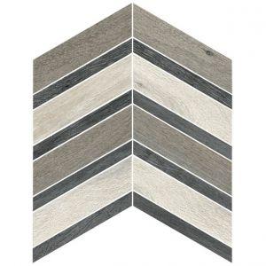 Декор настенный Cerim Bright Forest White/Ash/Dark Decoro 2 A 30 х 30 см