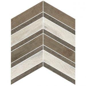 Декор настенный Cerim Bright Forest White/Natural/Brown Decoro 2 B 30 х 30 см
