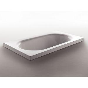 Ванна акриловая Zucchetti Kos Kaos 3 180 x 80 см