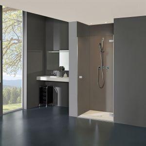 Распашная дверь в нишу DuschoLux Collection 3 Plus (профиль - хром, стекло - прозрачное с CareTec)