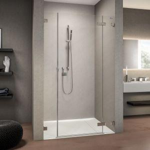 Распашная дверь в нишу DuschoLux Collection 3 Plus (профиль - хром, стекло - прозрачное)