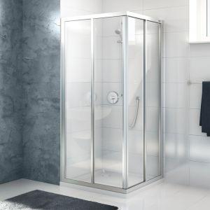 Душевая кабина DuschoLux Allegra (профиль - матовое серебро, стекло - прозрачное с CareTec)