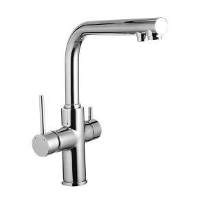 Смеситель для кухни Imprese Daicy с системой очистки воды (3х ступенчатая) Ecosoft Standart (цвет - хром)