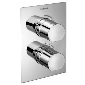 Термостат для ванны/душа Hansa Vario (цвет - хром), в комплекте внутренняя и наружная части