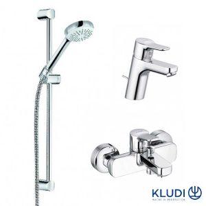 Набор смесителей для ванны Kludi Pure&Easy 3in1
