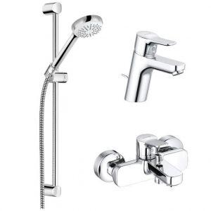 Набор смесителей для ванны 3-в-1 Kludi Pure&Easy (цвет - хром)