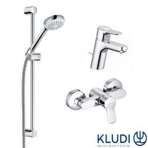 Набор смесителей для душа Kludi Pure & Easy 3-в-1