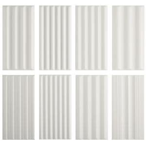 Декор настенный 41 zero 42 WigWag White 7,5 x 15 см
