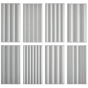 Декор настенный 41 zero 42 WigWag Grey 7,5 x 15 см