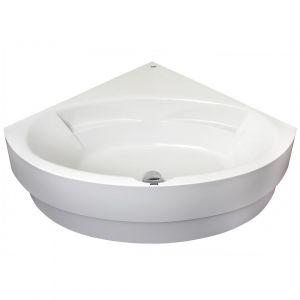 Ванна акриловая DuschoLux Malaga 150 х 150 см с панеллю