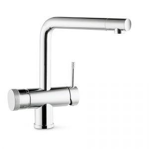 Смеситель кухонный с системой кипячения воды Newform Technology Kitchen (цвет - хром)
