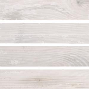 Напольная плитка Quintessenza Ceramiche Legnetti bianco 6 х 30 см