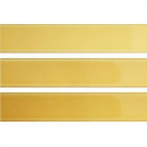 Настенная плитка Quintessenza Ceramiche Tinte giallo lucido 5 х 25 см