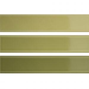 Настенная плитка Quintessenza Ceramiche Tinte verde lucido 5 х 25 см