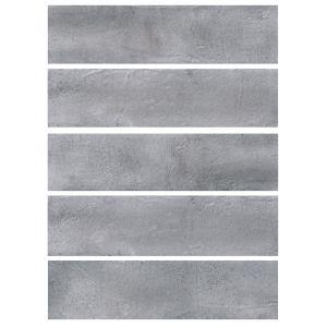 Керамогранит Quintessenza Ceramiche Fuoricitta grigio medio 7 х 28 см