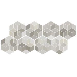 Декор Quintessenza Ceramiche Minima8.6 multi beige 17 х 15 см