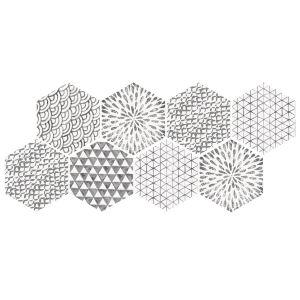 Декор Quintessenza Ceramiche Minima8.6 mix 17 х 15 см