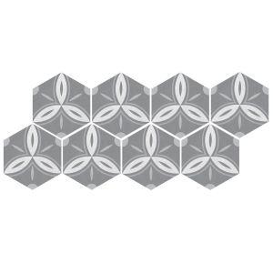 Декор Quintessenza Ceramiche Minima8.6 curve 17 х 15 см