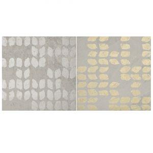 Декор Quintessenza Ceramiche Superfici20 tracce3 mix slate perla 20 х 20 см