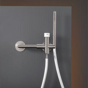 Смеситель для ванны/душа Cea Design Gastone (цвет - хром/белый)