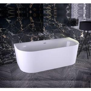 Ванна акриловая отдельностоящая Knief Fresh Wall 180x80 белая
