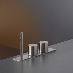 Смеситель на борт ванны Cea Design Duet (цвет - хром), с душевым гарнитуром