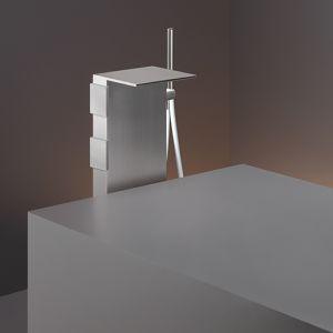 Смеситель для ванны напольный Cea Design Regolo (цвет - хром), с душевым гарнитуром