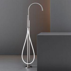 Смеситель для ванны напольный Cea Design Gradi (цвет - хром), с душевым гарнитуром