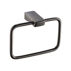 Полотенцедержатель Imprese Grafiky, black nickel