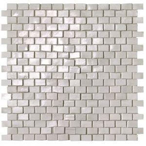 Мозаика Fap Ceramiche Brickell White Brick Mosaico Gloss 30 х 30 см (8,5 мм)